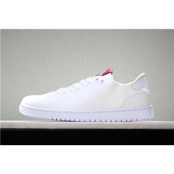 2018 Levi's x Air Jordan 1 Low White Denim Men's and Women's Size Basketball Shoes