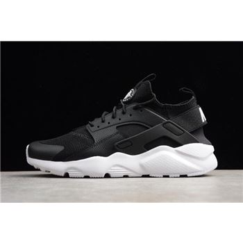 Nike Air Huarache Run Ultra Black/White Running Shoes 819685-016
