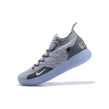 Nike KD 11 Cool Grey/Wolf Grey-Pure Platinum AO2604-002
