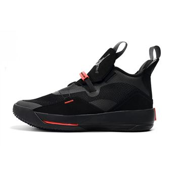 Air Jordan 33 XXXIII Black/University Red