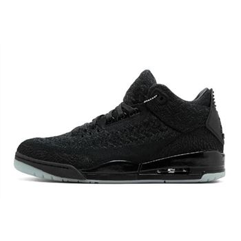 Air Jordan 3 Flyknit Black/Anthracite-Black AQ1005-001