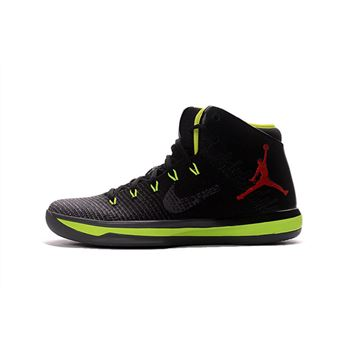 Air Jordan XXX1 Black/Volt-Red