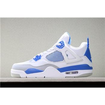 Air Jordan 4 OG Military Blue White/Neutral Grey-Military Blue 308497-105
