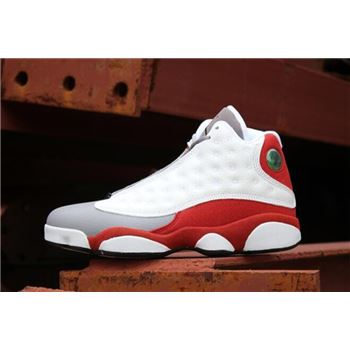 New Air Jordan 13 Retro Grey Toe White/Black-True Red-Cement Grey 414571-126
