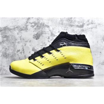 SoleFly x Air Jordan 17 Low Lightning/Black-Metallic Silver AJ7321-003