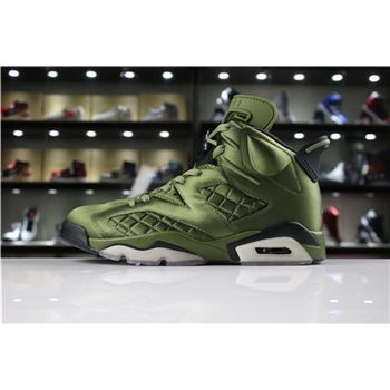 Cheap Air Jordan 6 Pinnacle Saturday Night Live Palm Green/Palm Green-Black